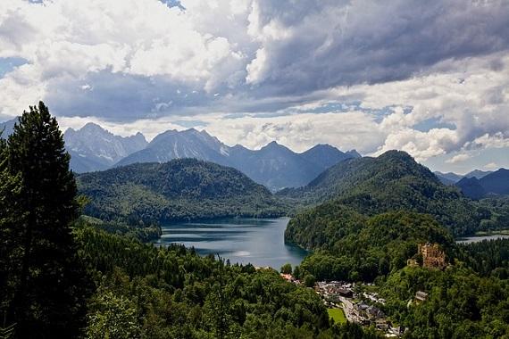 Gebirgslandschaft in Deutschland