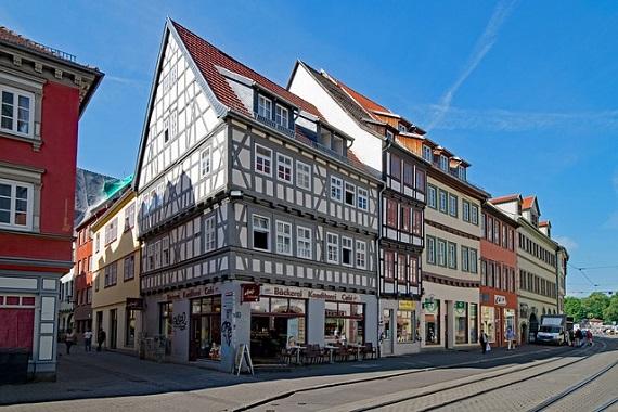 Historisches Gebäude in Erfurt