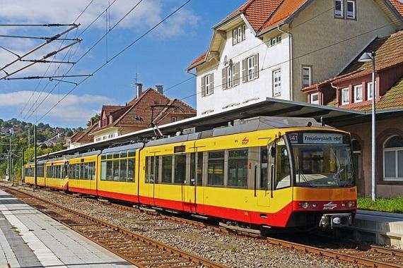 S-Bahn in Karlsruhe