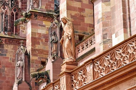 Historische Fassade in Münster