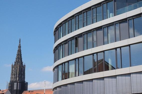 Modernes Gebäude in Münster