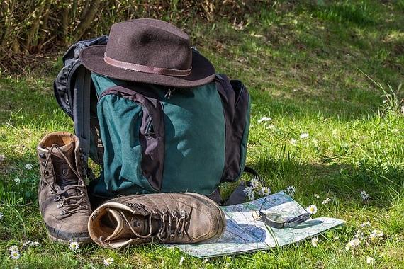 Wanderausrüstung für Wohnwagen-Urlaub