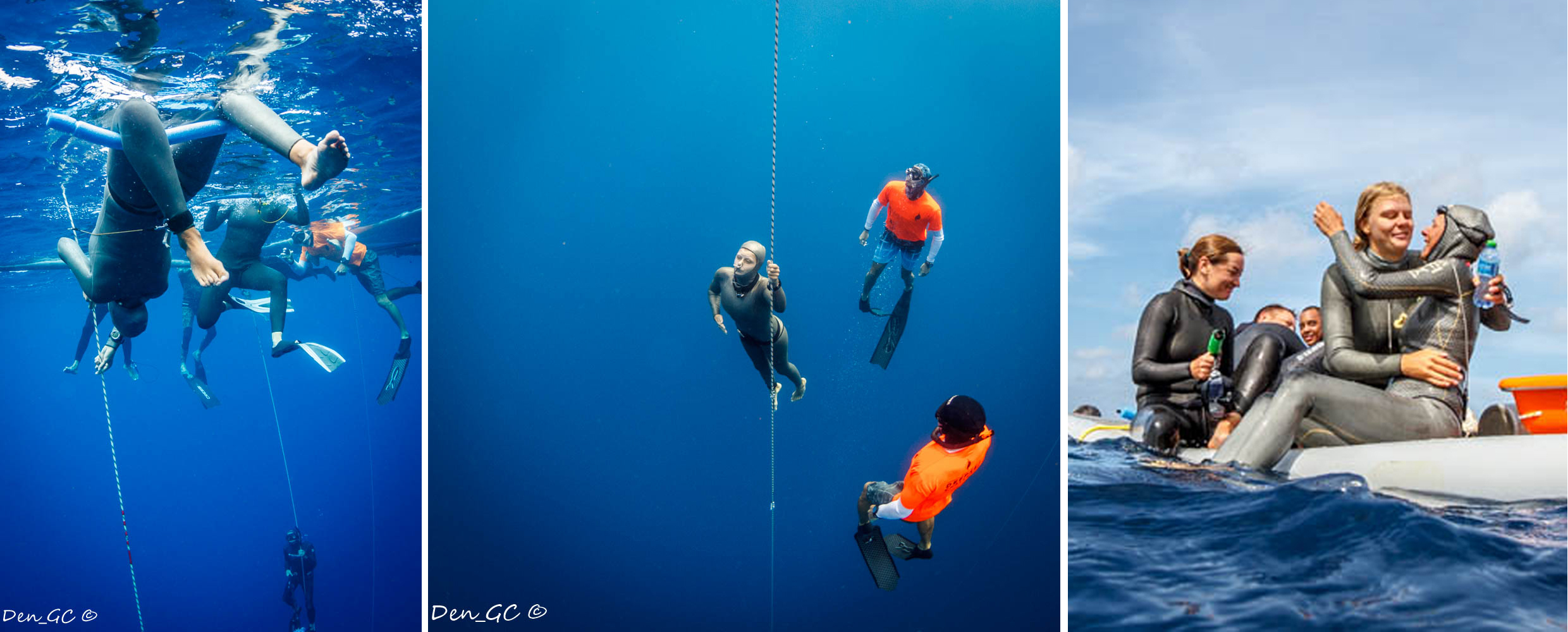 Jeanine Grasmeijer - the youngest name in today's freediving World Records