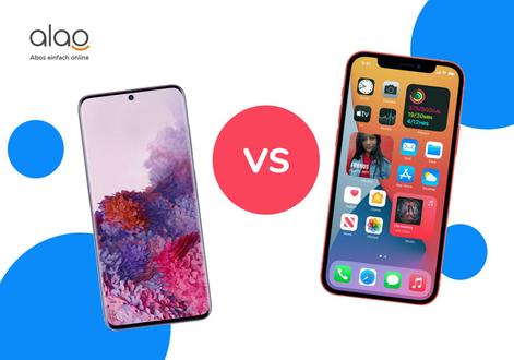 Samsung S20 vs iPhone 12   Der Vergleich   alao