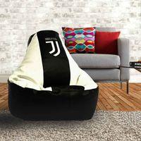 Kreslo-puf Juventus (new logo)