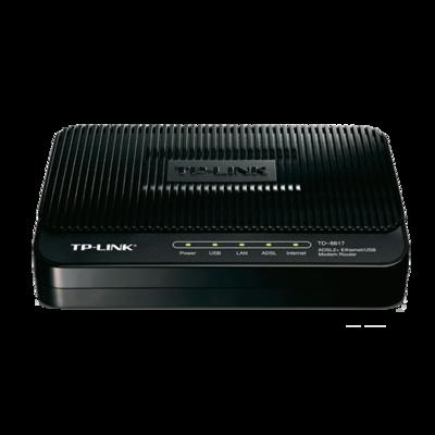 TP-Link ADSL2+ Ethernet/USB Modem Router