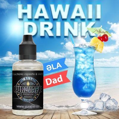 ЖИДКОСТЬ  для Электронного Кальяна Hawaii Drink 30мл