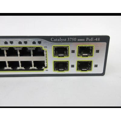 Cisco switch 3750 PoE - 48