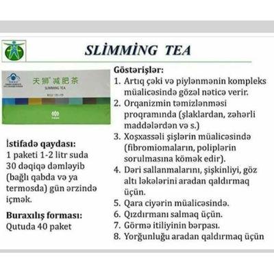 Slimming - arığladıcı çay