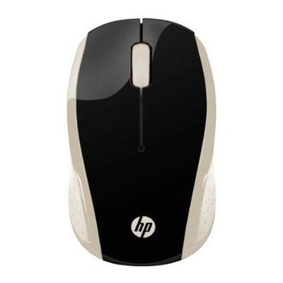 Siçan HP 200 Silk Gold Wireless Mouse