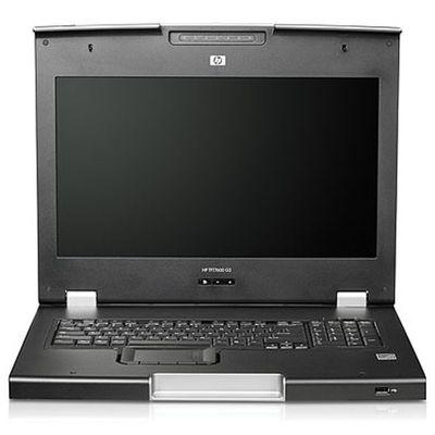 HP TFT7600 G2 KVM Console Rackmount Keyboard Intl Monitor