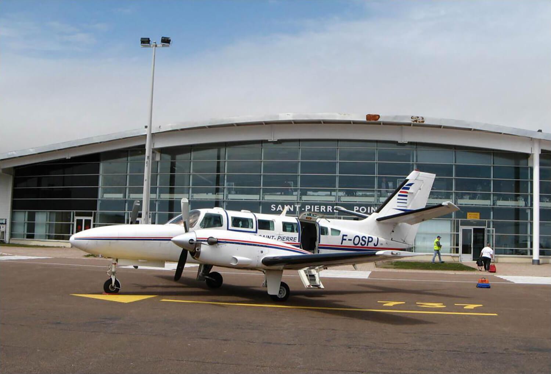 Aéroport de Saint-Pierre Pointe-Blanche - photo d'illustration