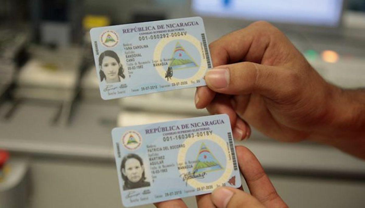 Cómo solicitar la cédula de identidad nicaragüense