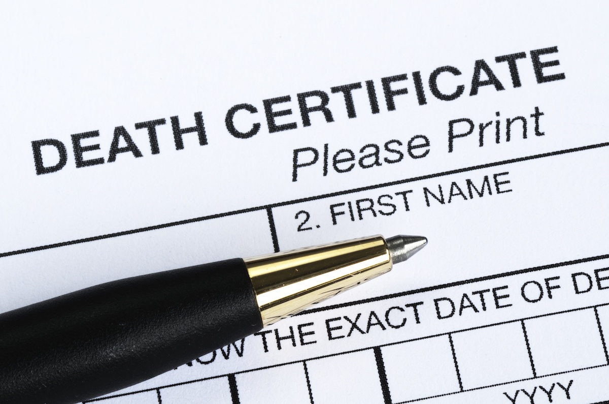 Death certificate: learn how to request a British death record
