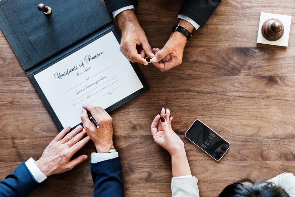 Divorce Certificate USA