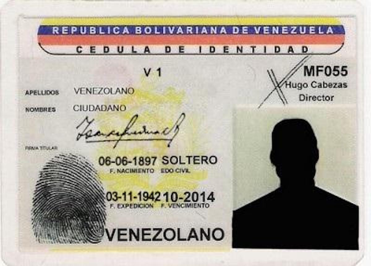 Cómo solicitar la Cédula de Identidad de Venezuela