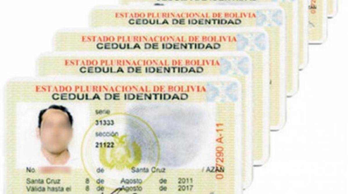 Cómo tramitar la cédula o carnet de identidad en Bolivia