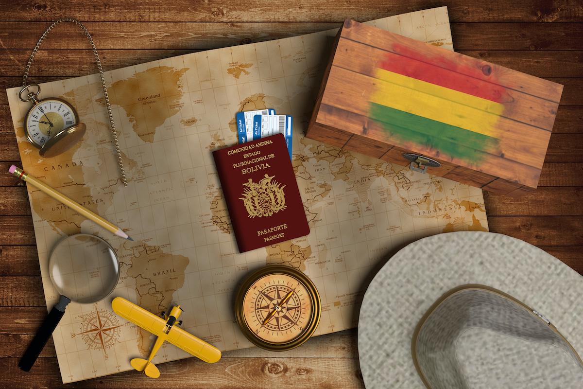 Solicitud de pasaporte boliviano