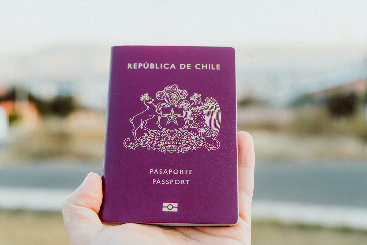 Solicitud de pasaporte chileno