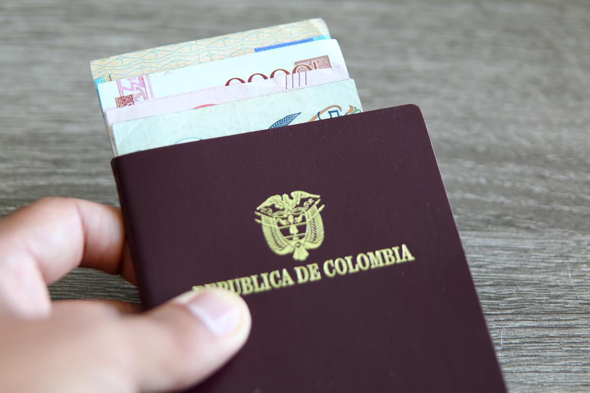Solicitud de pasaporte en Colombia