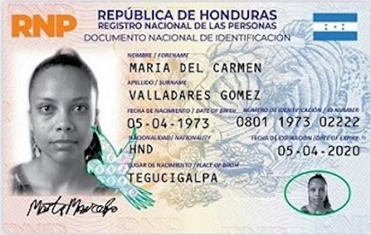 Cómo obtener el Documento Nacional de Identificación (DNI) hondureño
