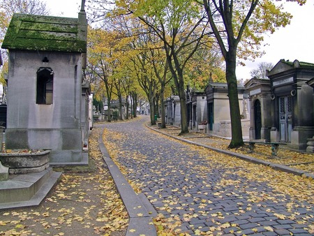 tombes cimetière pierre lachaise