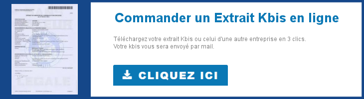 Télécharger votre extrait kbis