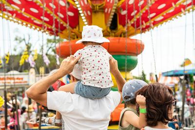 parc d'attraction pour enfants