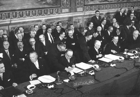 traité Rome pour la CEE le 25 mars 1957