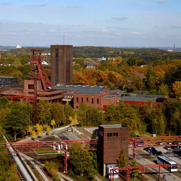 Industriekomplex Zeche Zollverein in Essen