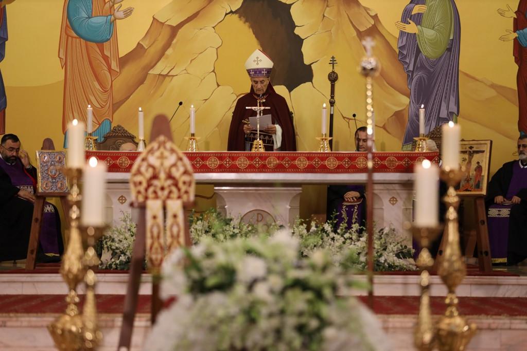 عظة البطريرك الراعي في جنازة المطران كميل زيدان