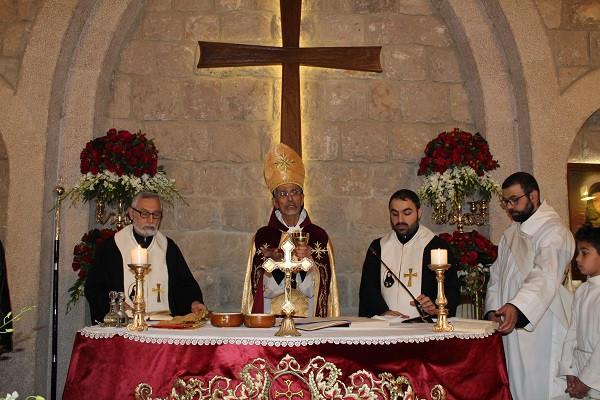 عيد القديسة رفقا في حملايا