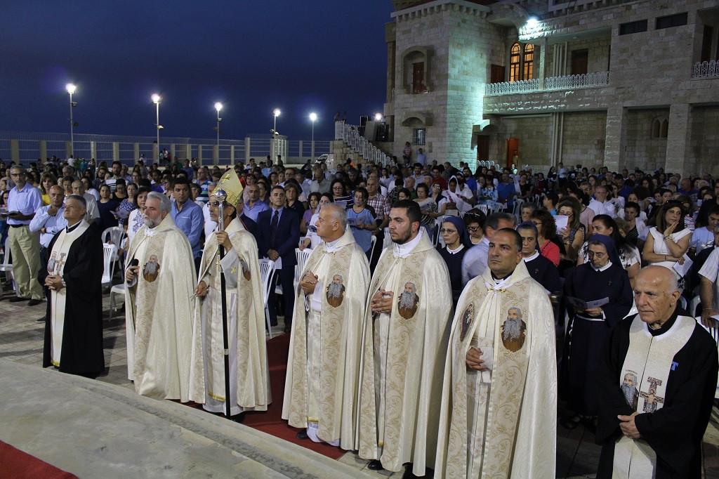 عيد الصليب في دير الصليب - بقنايا