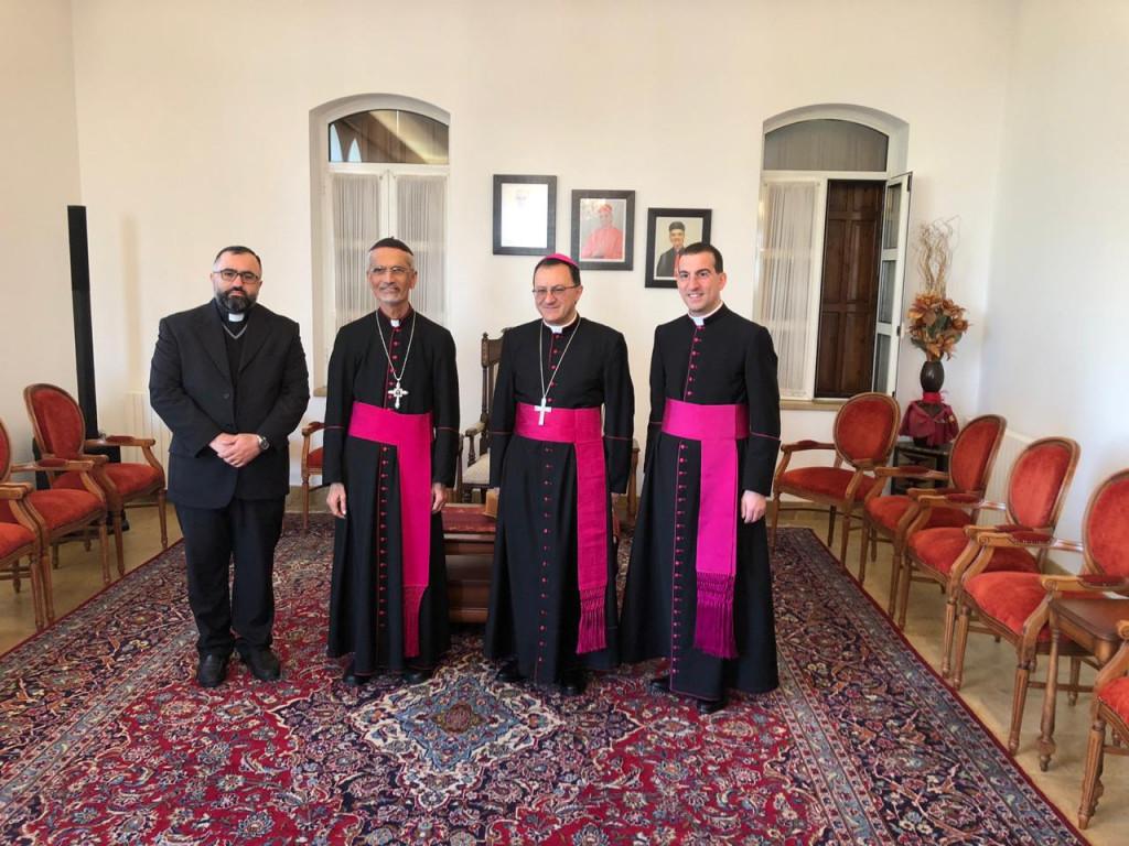 زيارة السفير البابوي إلى أبرشيّة أنطلياس