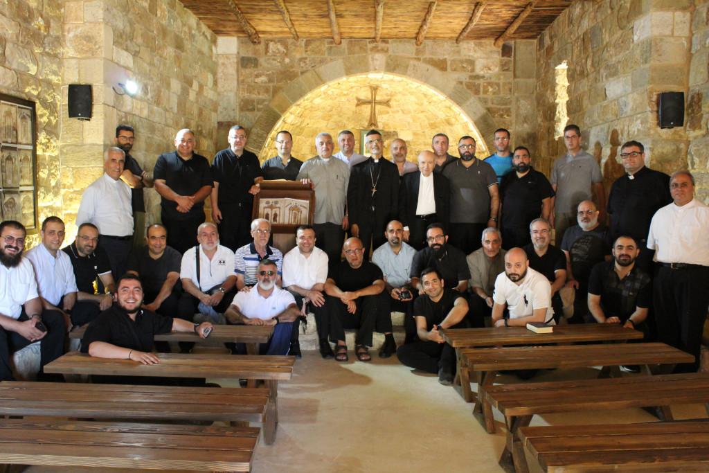 الرحلة السنويّة لكهنة الأبرشيّة