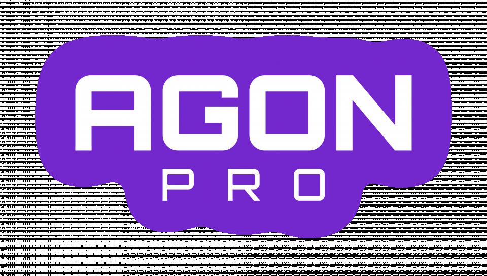 agonpro-logotext-white-withglow