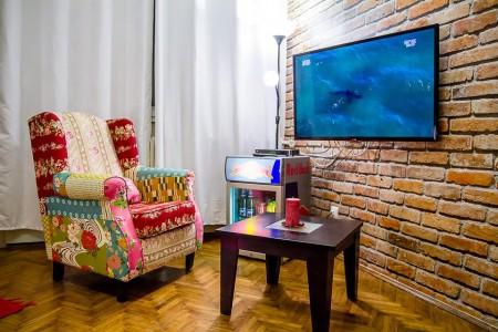apartments belgrade fotelja tv