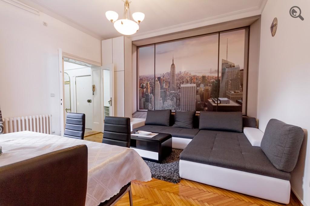 Stan , Beograd (grad) , Kratkoročno izdavanje | Trosobni Apartman Milar Beograd Centar