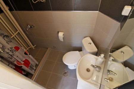 apartments belgrade kupatilo