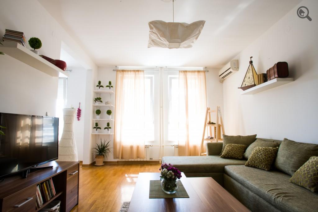 Dvosobni Apartman Belvil Beogradu Novi Beograd