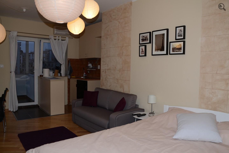 Stan , Beograd (grad) , Kratkoročno izdavanje | Studio Apartman Nine Beograd Centar