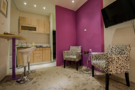 apartmani beograd Purple center kuhinja