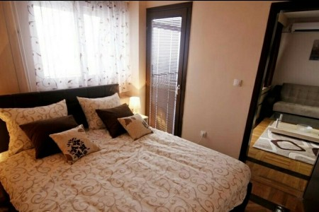 apartments belgrade Oblak spavaca soba