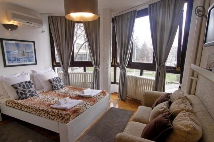 Stan , Beograd (grad) , Kratkoročno izdavanje | Studio Apartman Naty 4 Beograd Centar
