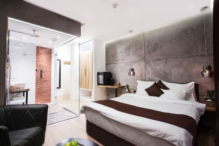 Studio Bedroom Apartment One Industry 1 Belgrade Center