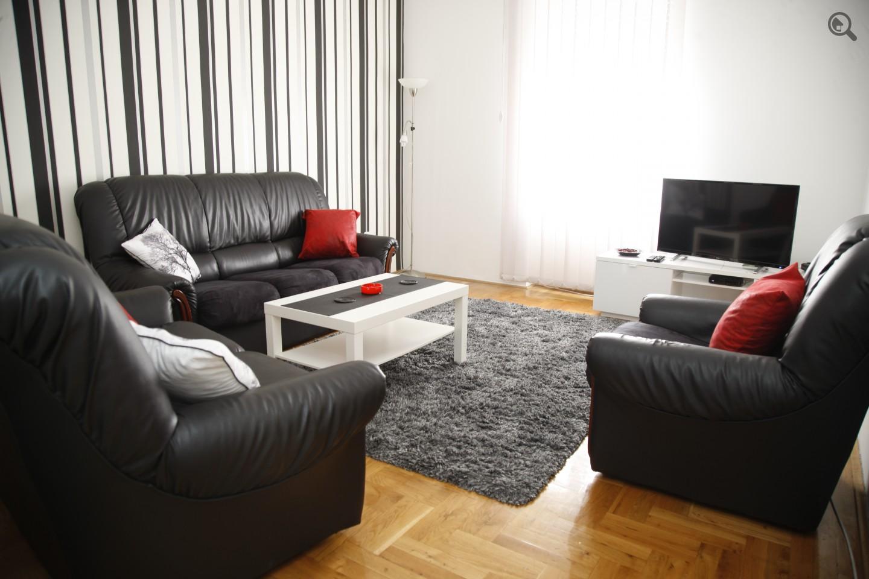 Trosoban Apartman Atelje Beograd Centar