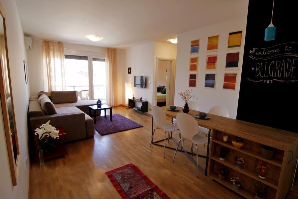Trosoban Apartman Modern Beograd Vračar