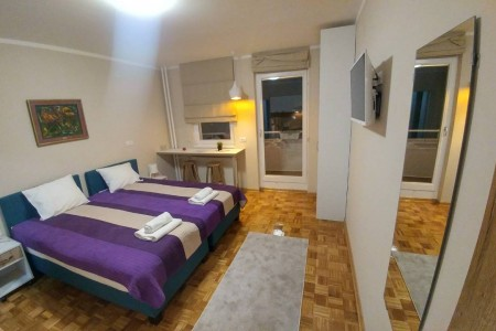 Studio Apartment Arena East A 3 Belgrade New Belgrade