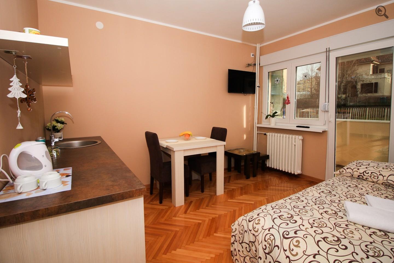 Stan , Beograd (grad) , Kratkoročno izdavanje | Studio Apartman Sarajevska Beograd Savski Venac