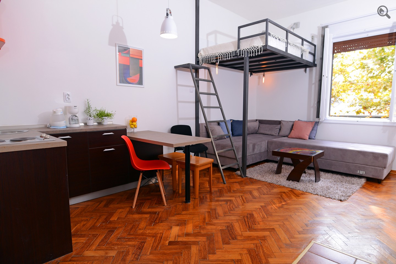 Studio Apartman Silver Central Spot Beograd Centar